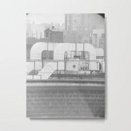 duct Metal Print