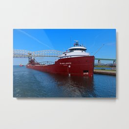 Hon James Oberstar I Metal Print