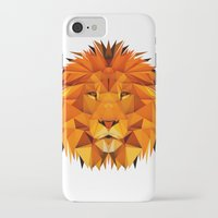 courage iPhone & iPod Cases featuring Courage by jenkydesign