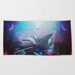 (Be)come Weightless Beach Towel