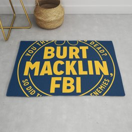BURT FBI MACKLIN Rug