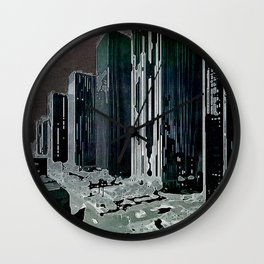 citymdnfltr Wall Clock