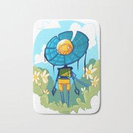 Flower Robot Bath Mat
