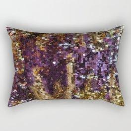 PURPLE AND GOLD Rectangular Pillow
