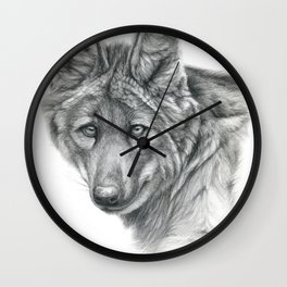 Maned Wolf G040 Wall Clock