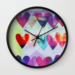 love art Wall Clock
