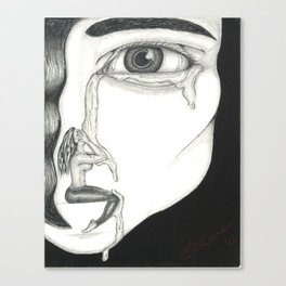 Sorrows of a Lover Canvas Print