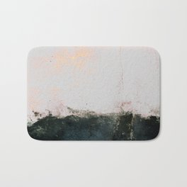 abstract smoke wall painting Bath Mat