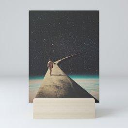 We Chose This Road My Dear Mini Art Print