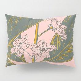 Modern Botanical Banana Leaf Pillow Sham