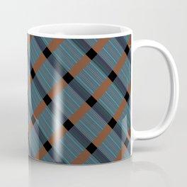BLUE MONDAY PLAID Coffee Mug