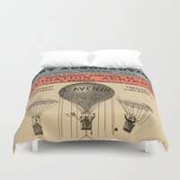 sport Duvet Covers featuring Sport Aeronaute by DAChiemsee