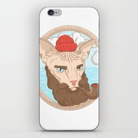 sailor iPhone & iPod Skins featuring Sailor by Fresco Umbiatore