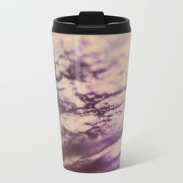 Purple Blue Fluorite from our Earth Travel Mug