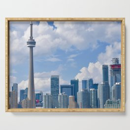 Canada Photography - Toronto In The Day Time Serving Tray