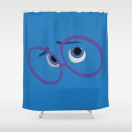 Pixar - Inside Out - Sadness Shower Curtain