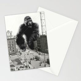 King Kong in Detroit 1907 Stationery Cards