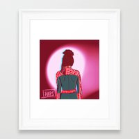 cosima Framed Art Prints featuring Spidey!Cosima 1 by the-haps