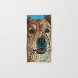 Cody the Golden Labrador Mix Dog Portrait Hand & Bath Towel