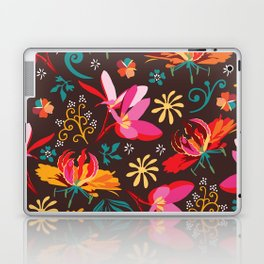 Tropical flower pattern Laptop & iPad Skin