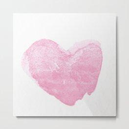 Love pink 1 Metal Print