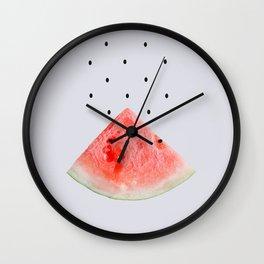 Watermelon #society6 #buyart #decor #artprint Wall Clock