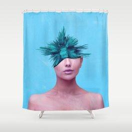 Head Grenade Shower Curtain