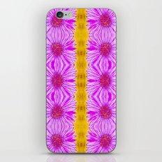 Purple Aster Flowers iPhone & iPod Skin