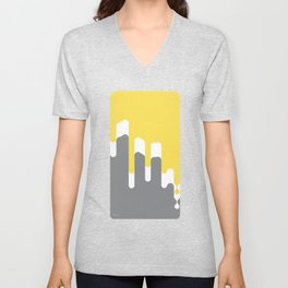 Dropping Yellow Unisex V-Neck
