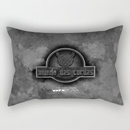 "Vaca - MP: ""Mundo das Cordas"" Rectangular Pillow"