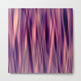 Pattern serie waves 2 purple Metal Print