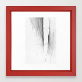 Form Gap Drawing Framed Art Print
