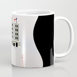 Paris Expo 1937 Art and Light Coffee Mug