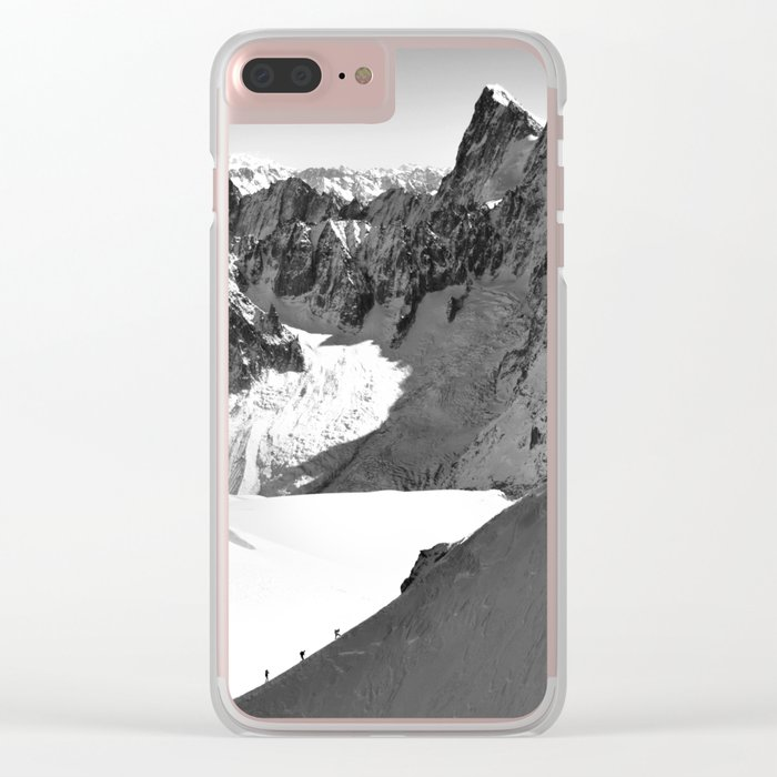 French Alps, Chamonix, France. Clear iPhone Case