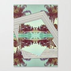 Tropics Trip Canvas Print