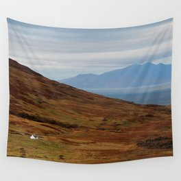 Scotland Argyll mountain landscape Wall Tapestry