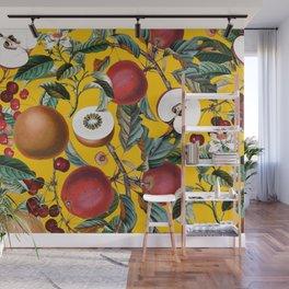 Vintage Fruit Pattern V Wall Mural