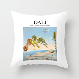 Dalí - Dream Caused by the Flight of a Bee Throw Pillow