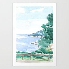 Paesaggio #6 Art Print