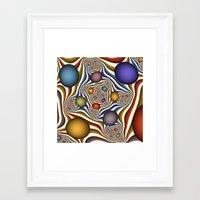 fractal Framed Art Prints featuring Fractal by gabiw Art