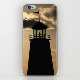 Peaceful Lighthouse iPhone Skin