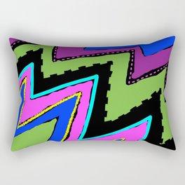 Zippy Zig Zags Rectangular Pillow