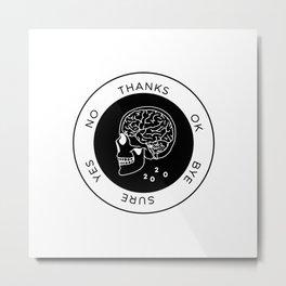 Decisions Metal Print