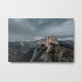 Yosemite's Half Dome Metal Print