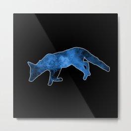 Cosmic Fox Metal Print