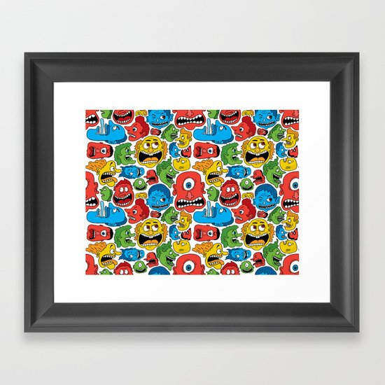 Creeps Framed Art Print