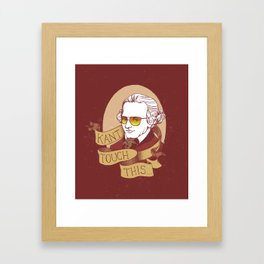 Kant Touch This Framed Art Print