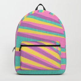 Bright Tropical Palm Backpack