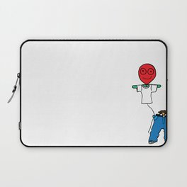 It's whats on the inside that matters Laptop Sleeve