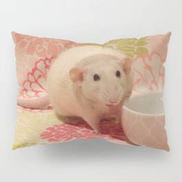 Pipes the Rat Smiling Pillow Sham